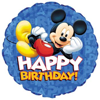 350x349 112 Best Birthday Wishes With Mickey Mouse Images