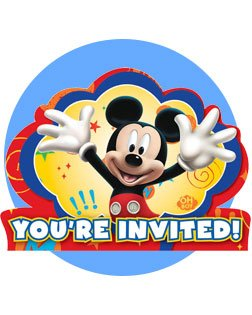 252x315 Mickey Mouse Birthday Party Supplies