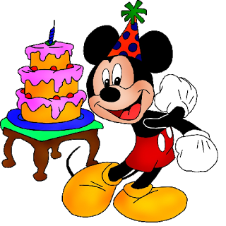 320x320 Mickey Mouse Clipart Birthday Cake