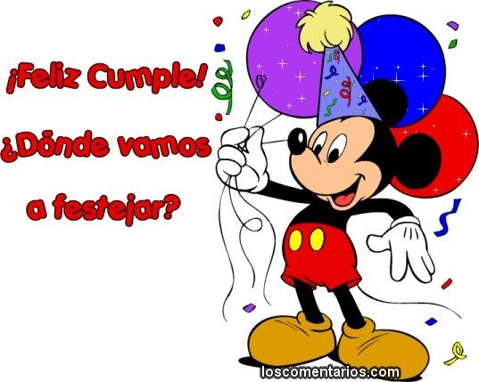 Mickey Mouse Birthday Pictures