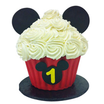 214x214 Mickey Mouse Birthday Cake Mickey Mouse Cake