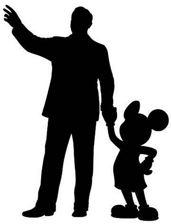 Mickey Mouse Black And White Clipart