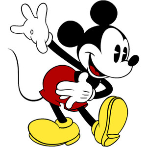 300x300 Mickey Minnie Mouse Clip Art