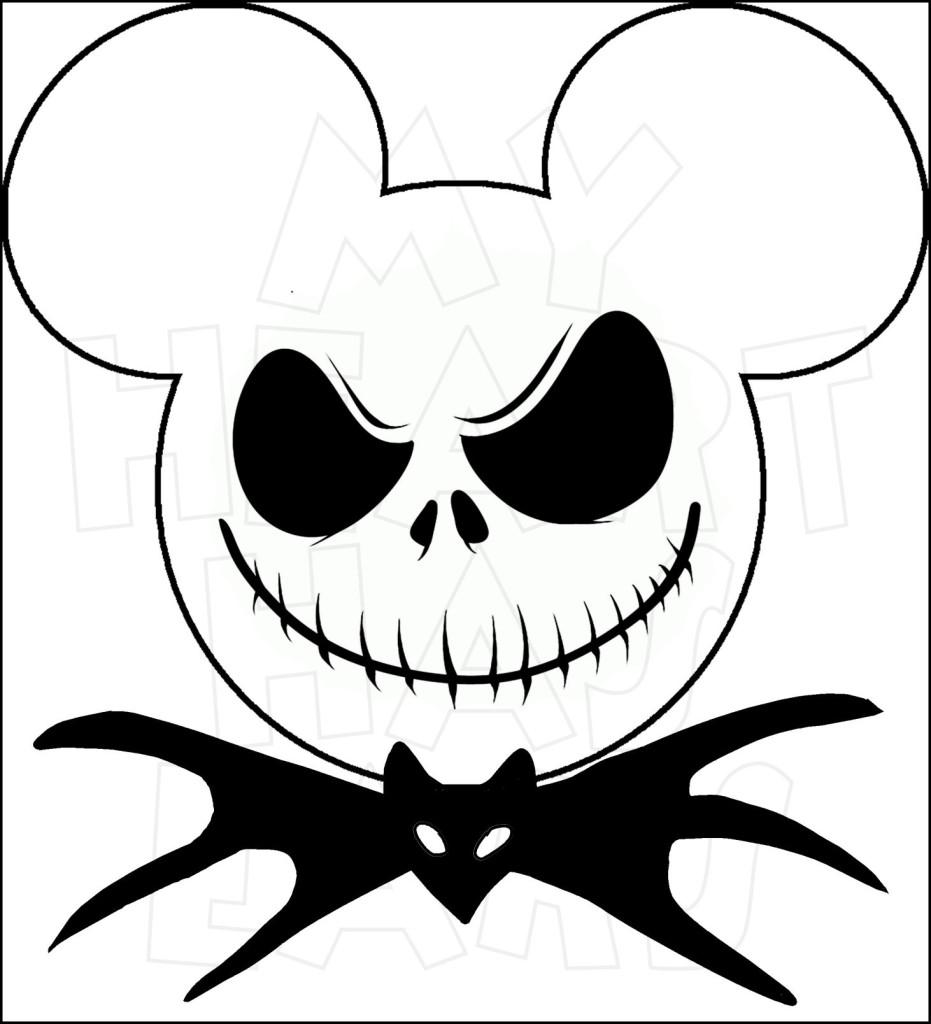 931x1024 Mickey Mouse Dressed As Jack Skellington Instant Download Digital