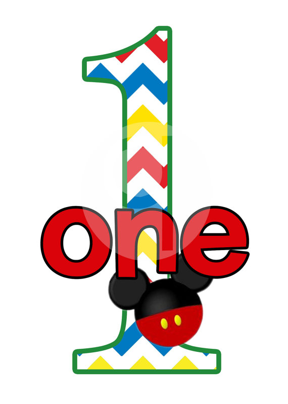 570x798 Mickey Mouse Birthday Border Clipart