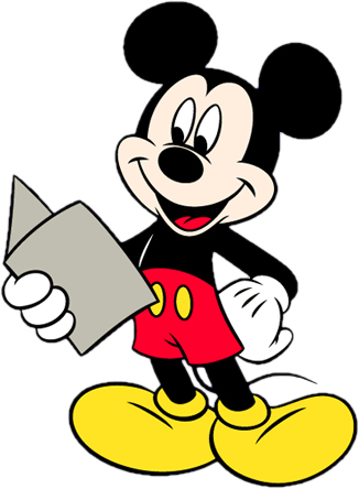 326x444 Mickey mouse border clip art 3
