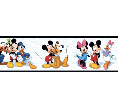 450x400 Photo Collection Mickey Mouse Clubhouse Wallpaper Border