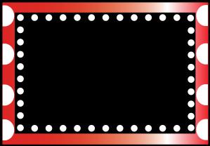 299x208 Red Polka Dot Border Clip Art