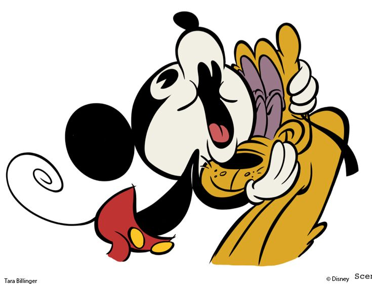 735x561 44 Best Art Of Mickey Mouse Cartoons Images