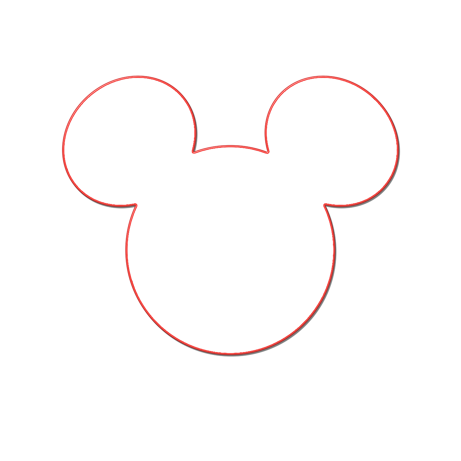 1600x1600 Mickey Mouse Vector Free Download Clip Art
