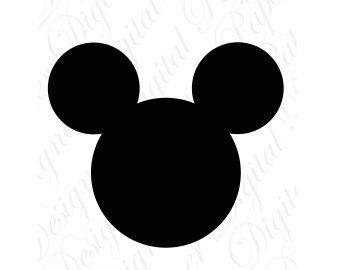 340x270 Mickey Silhouette Etsy
