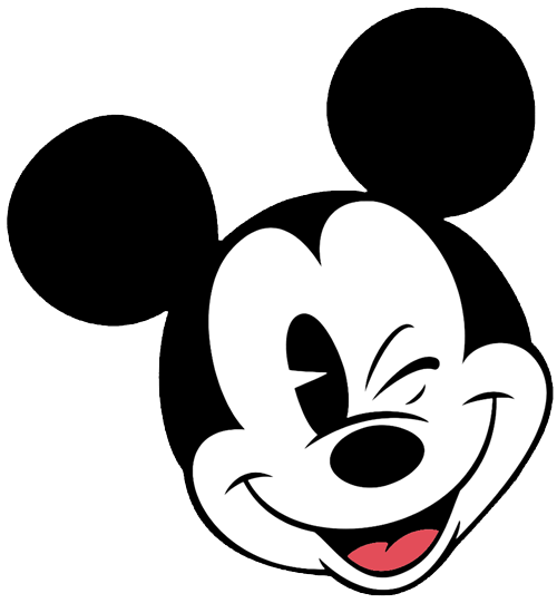 500x541 Old Clipart Mickey Mouse