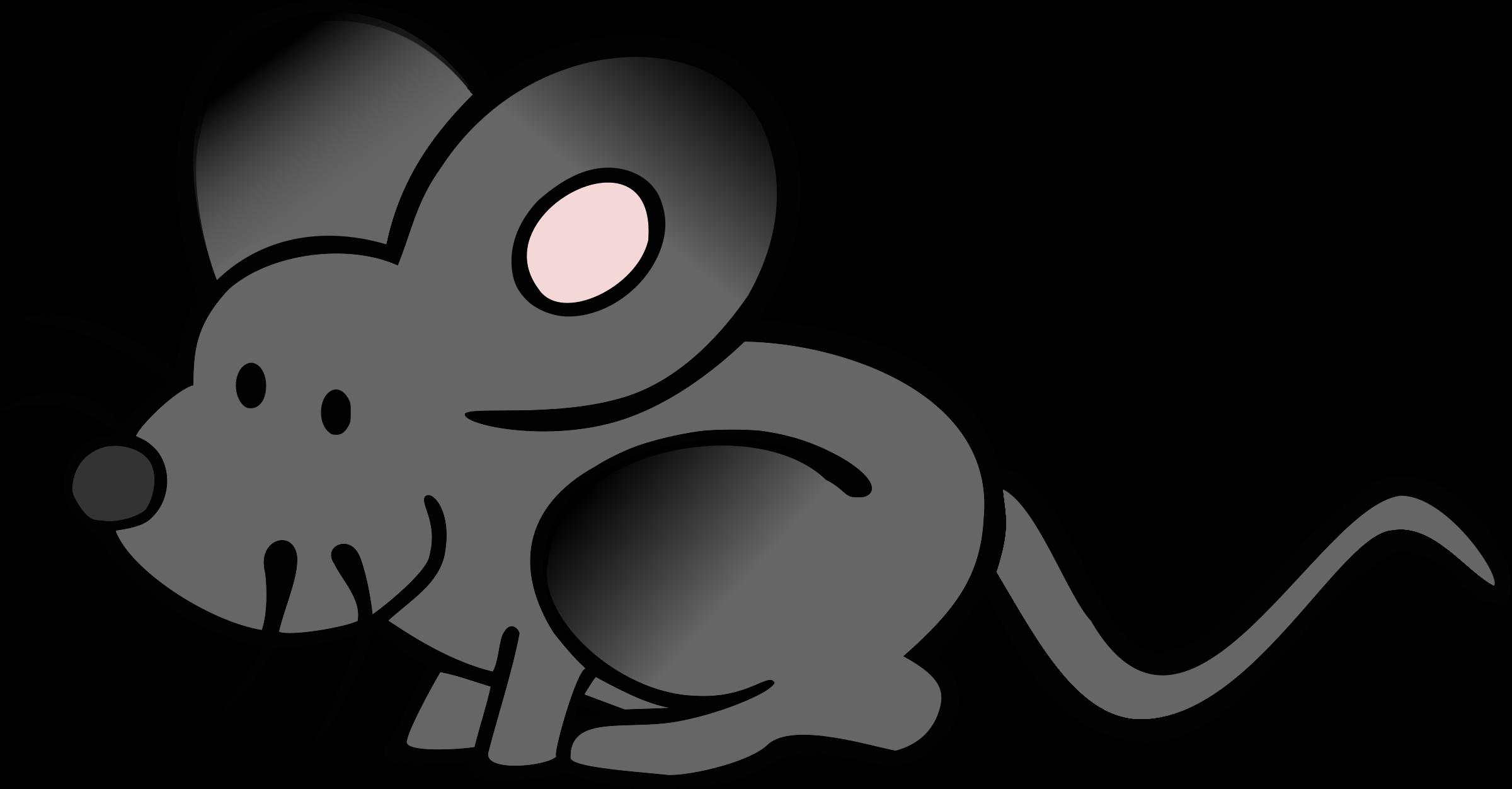 2400x1252 Cartoon Mouse Clipart