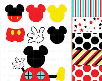 340x270 Digital clipart mickey mouse