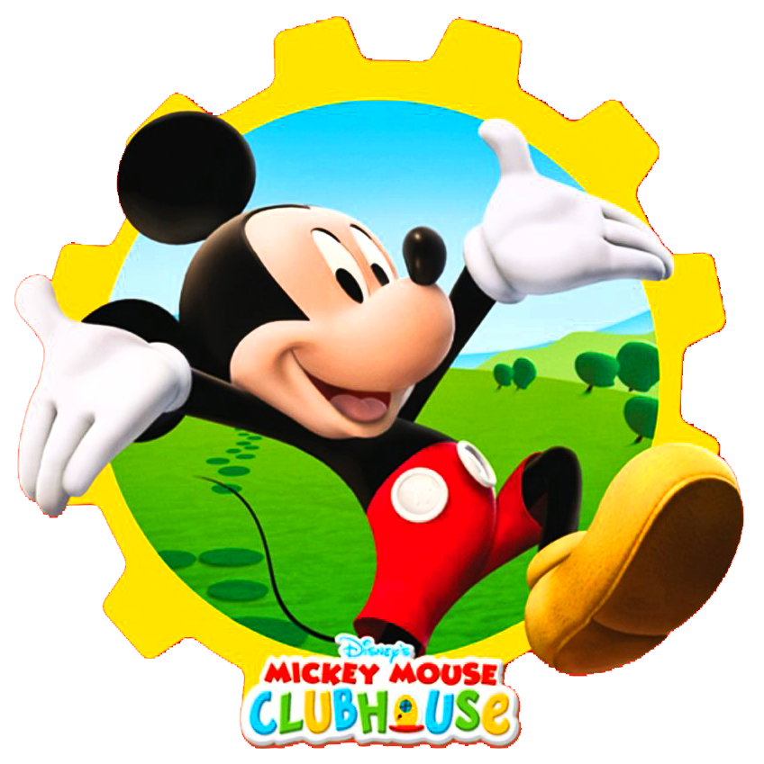 848x849 Mickey Mouse Clubhouse Clipart