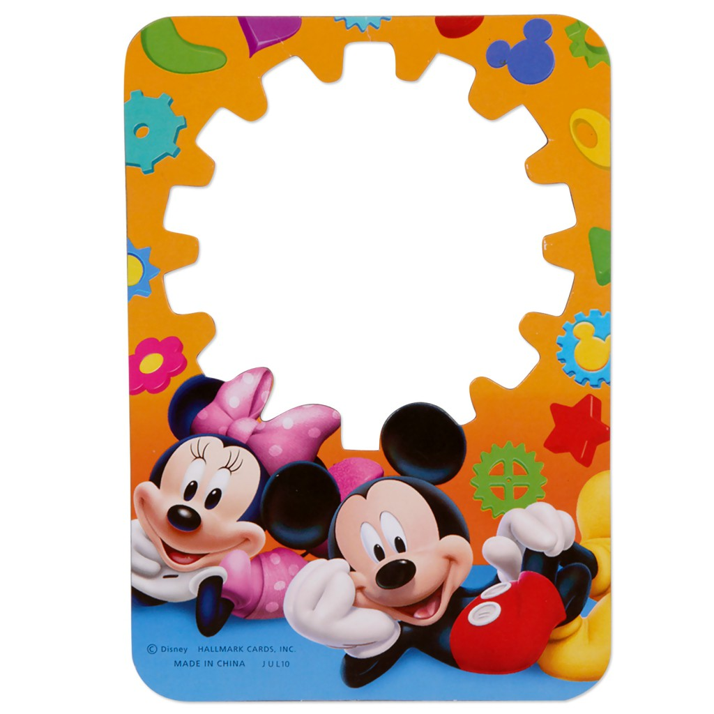 1024x1024 Mickey Mouse Template