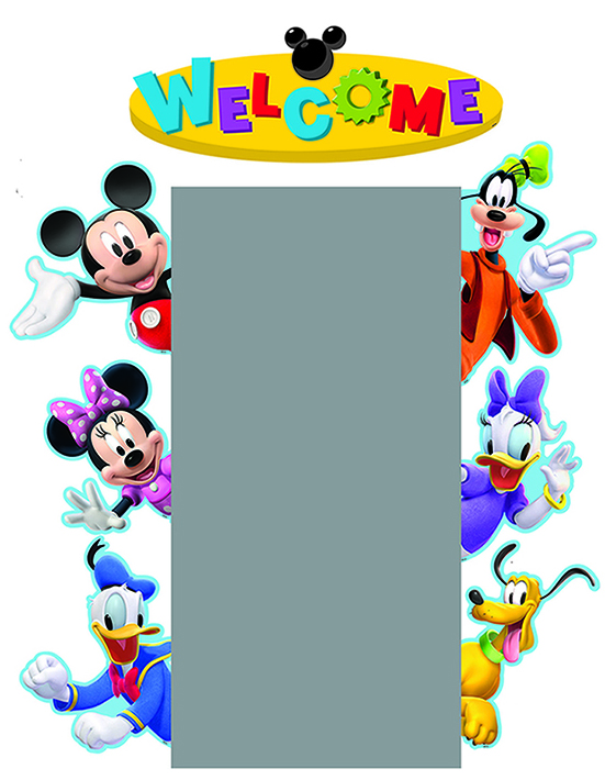 551x710 Mickey Mouse Clubhouse Character Welcome Go Arounds Accents
