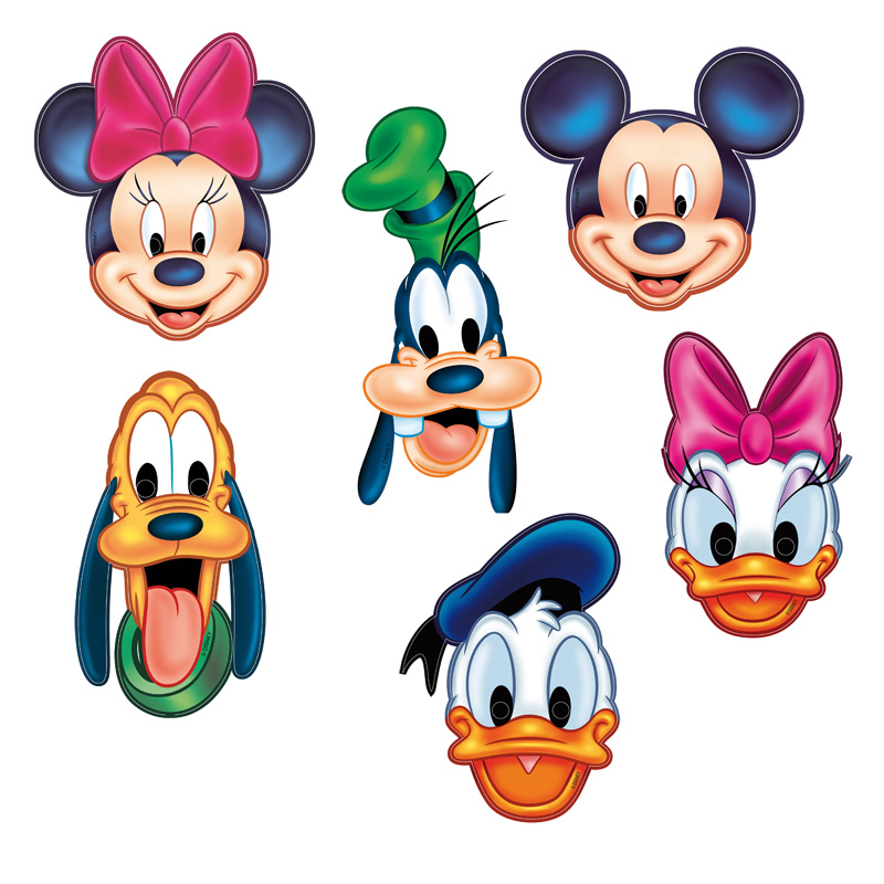 800x800 Mickey Mouse Clubhouse Characters Cutouts Vectors By Casperworld