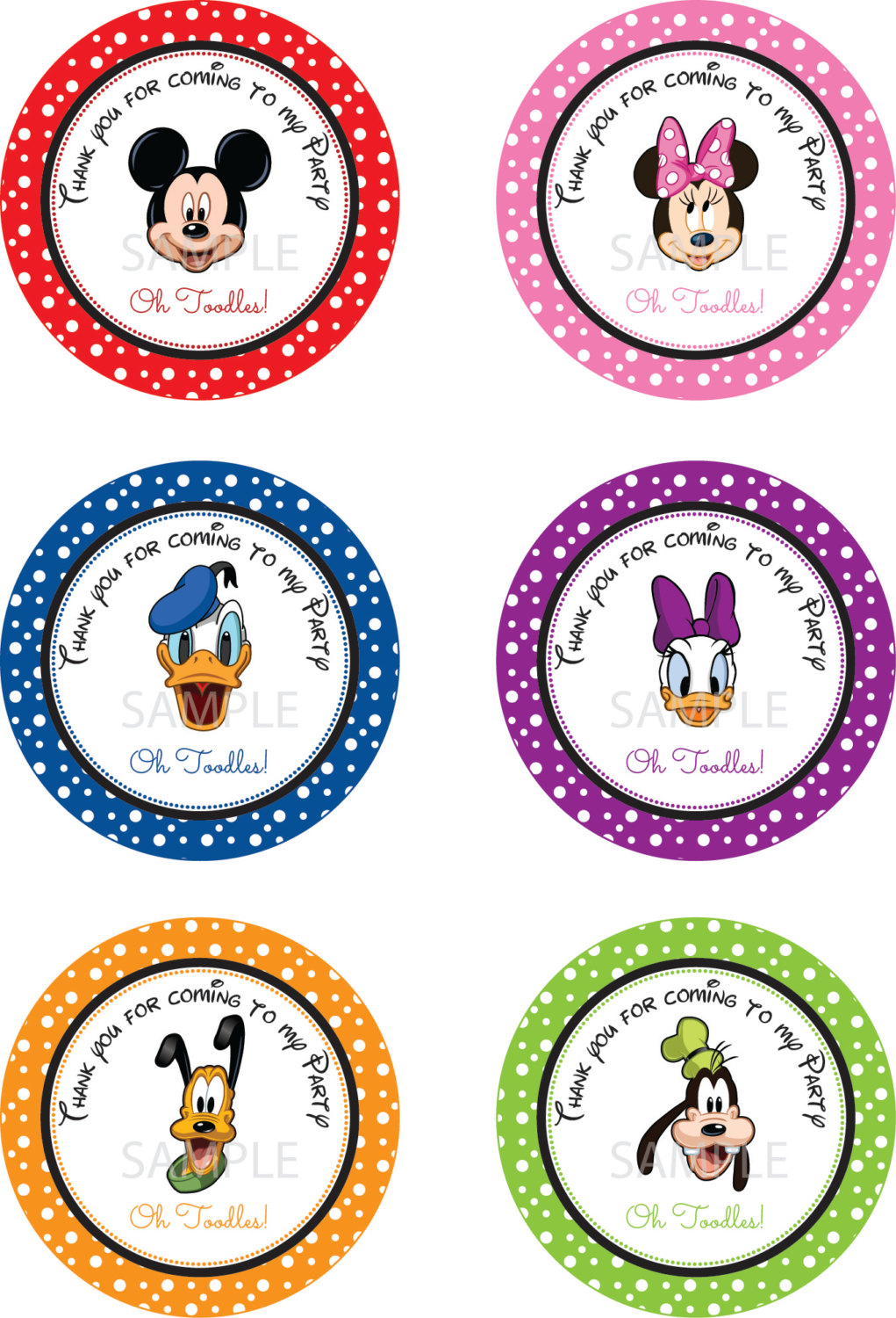 photo regarding Mickey Mouse Printable Cutouts called Mickey Mouse Clubhouse Figures No cost down load suitable