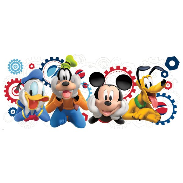600x600 Mickey And Friends Mickey Mouse Clubhouse Capers Giant Wall Decal