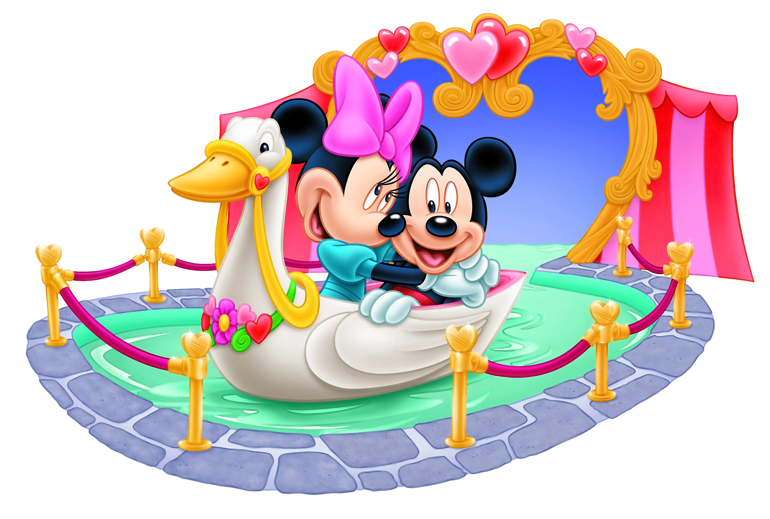 2582x1741 Love Mickey Mouse And Minnie Mouse Clip Art U2013 Cliparts