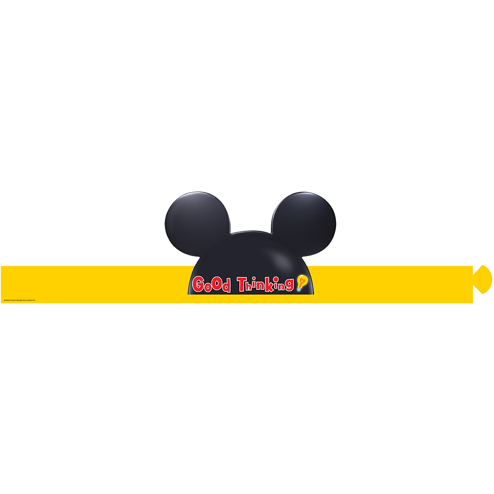 1000x1000 Mickey Mouse Clubhouse Good Thinking Wearable Paper Hats For Kids