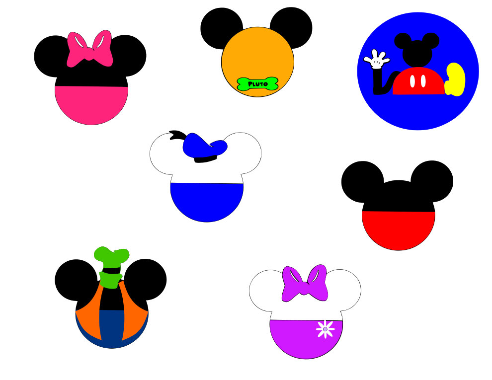 990x765 Mickey Mouse Clubhouse Mickey Heads