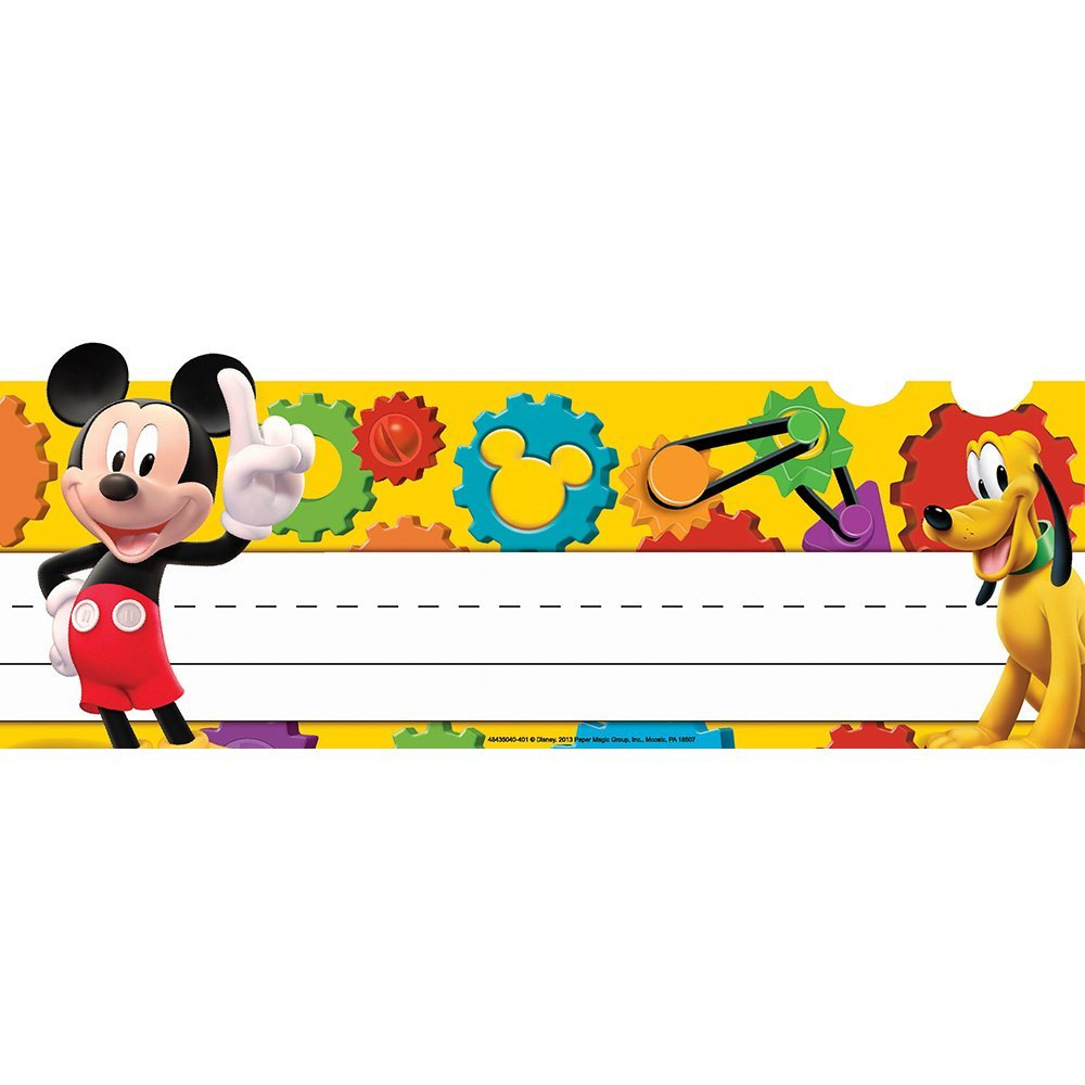 1000x1000 Eureka Mickey Mouse Clubhouse Mickey Gears Tented Name