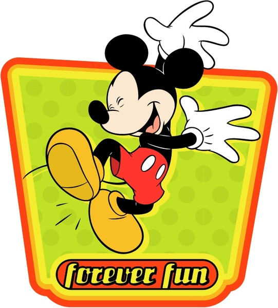 541x600 Mickey Mouse Vector Graphics Free Vector Download (506 Free Vector
