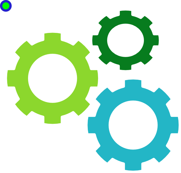 600x573 Gears Greens Clip Art