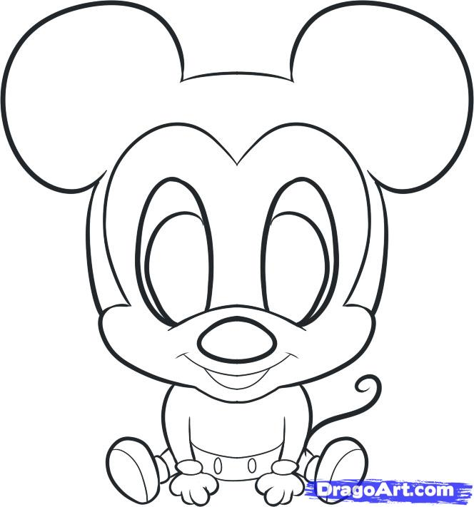 Mickey Mouse Drawing Free Download Best Mickey Mouse Drawing On
