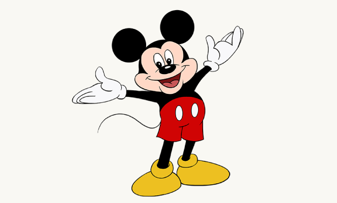 662x400 How To Draw Mickey Mouse Easy Drawing Guides