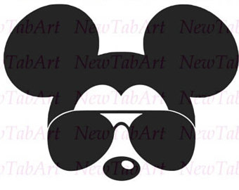 340x270 Glasses clipart mickey mouse