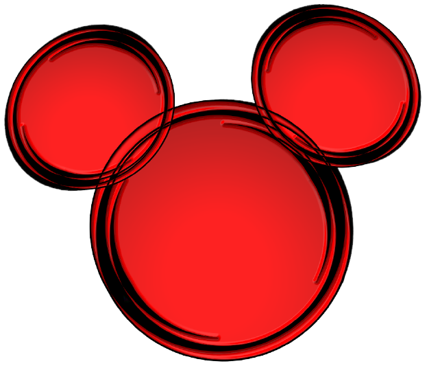 623x536 Mickey Ears Clip Art