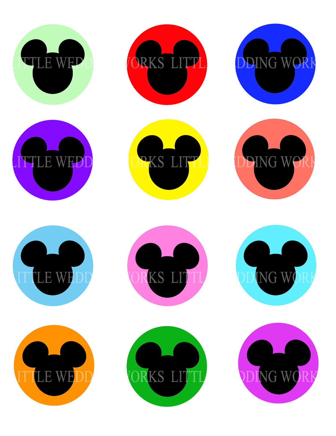 1159x1500 Mickey Mouse Head Clipart