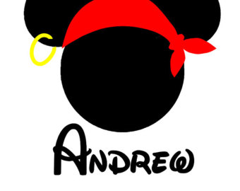 340x270 Mickey Mouse Pirate Clip Art
