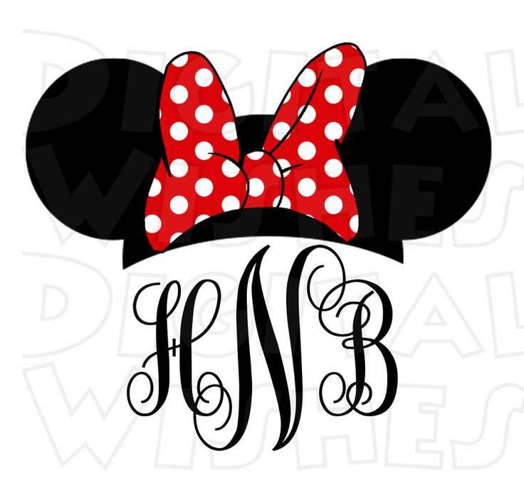 736x672 Minnie Mouse Ears Clip Art