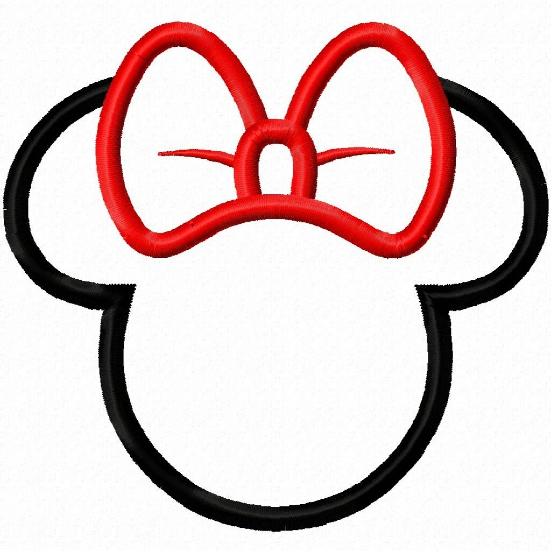 1920x1920 Minnie Mouse Ear Clip Art Free Clipart Images