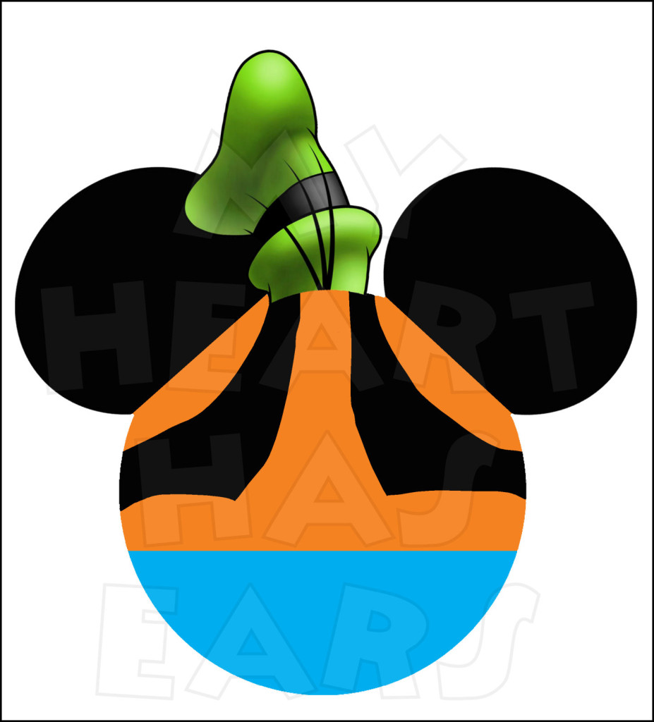 927x1024 Christmas Mickey Ears Clipart