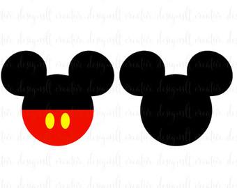 340x270 Mickey Mouse Head Etsy