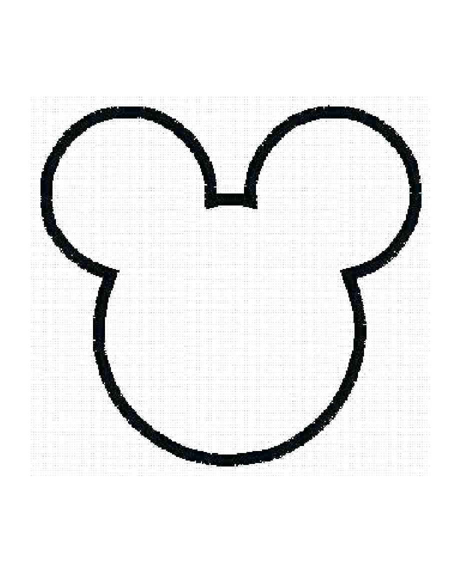 912x1152 Coloring Pages Remarkable Mickey Mouse Outlines. Mickey Mouse
