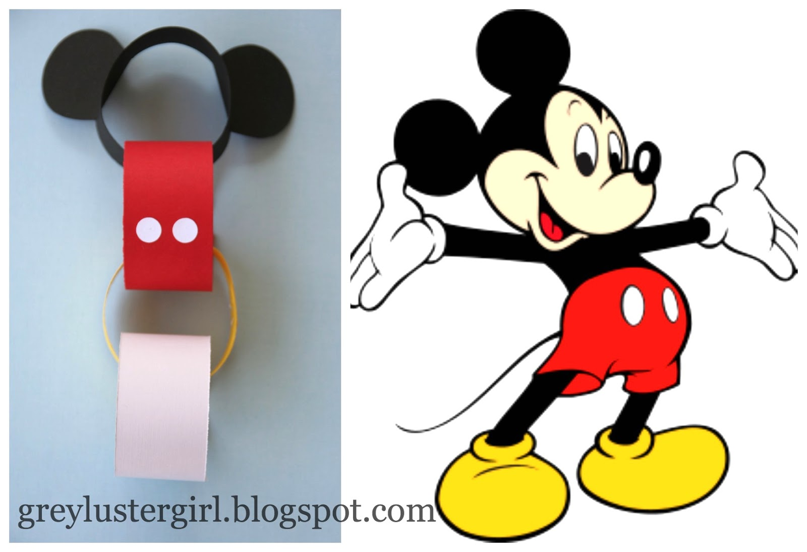 1600x1095 Disney Countdown Chain Tutorial With Mickey Ears Template