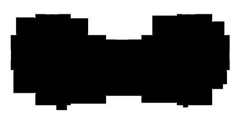 480x240 Mickey Ears Silhouette Clip Art