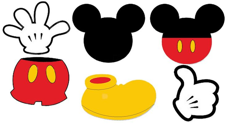 736x409 Mickey Mouse Shoes Clipart Birthday Mickey Mouse