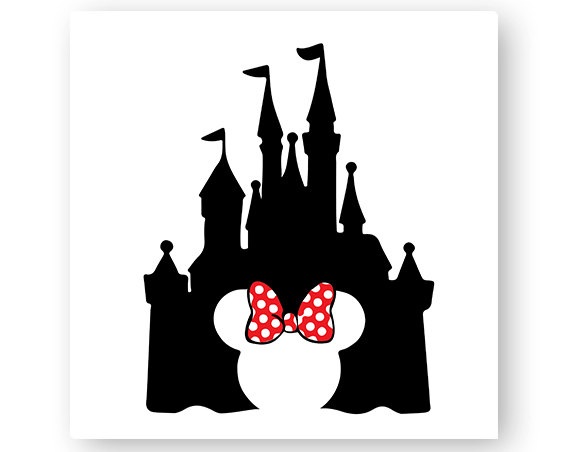 570x452 Mickey Mouse Clipart Castle