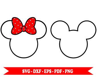 340x270 Mickey mouse outline Etsy