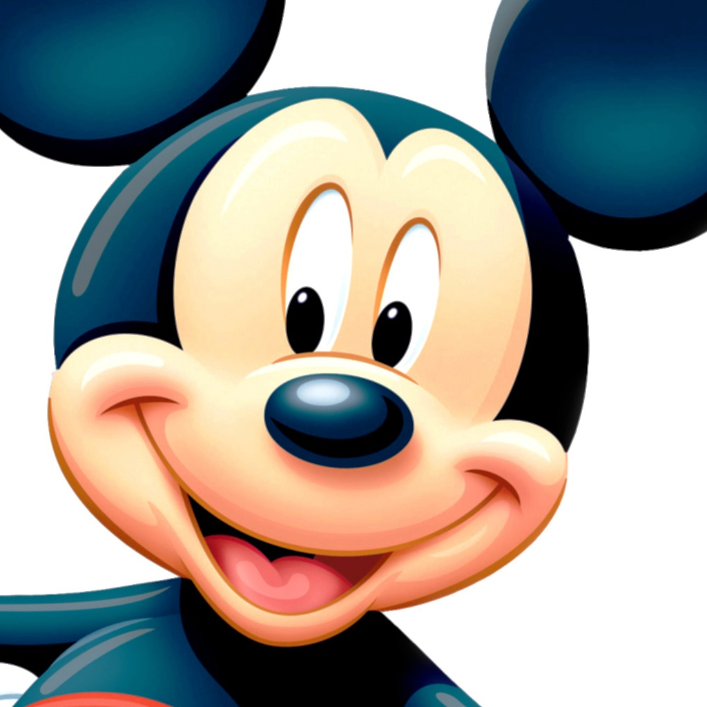 1024x1024 Mickey Mouse Face Pic Wallpapers Baby Mickey Mouse Wallpaper