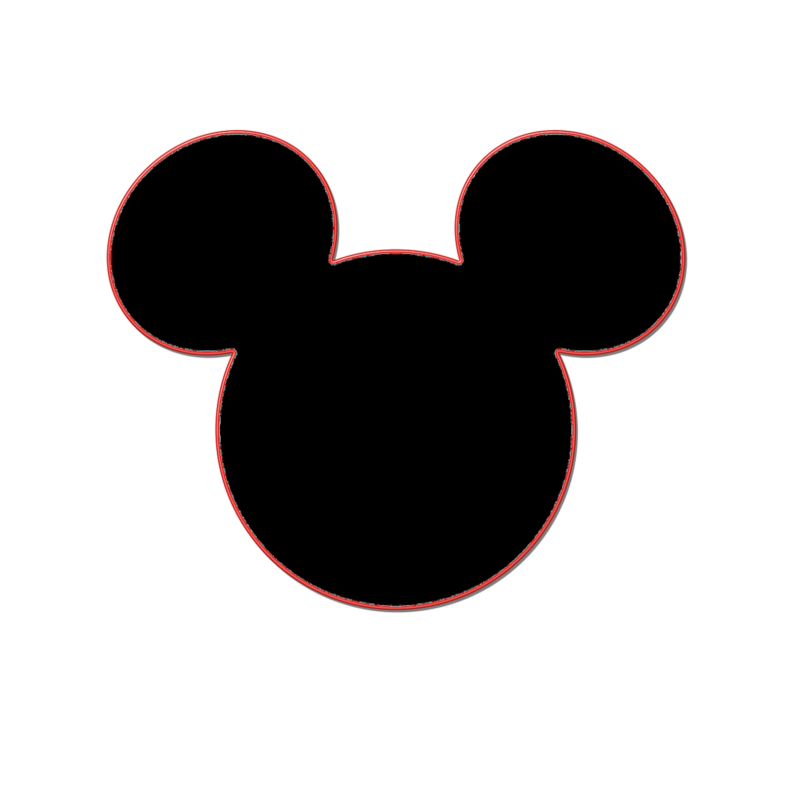 1600x1600 Mickey Mouse Head Printable Template Online Calendar Templates