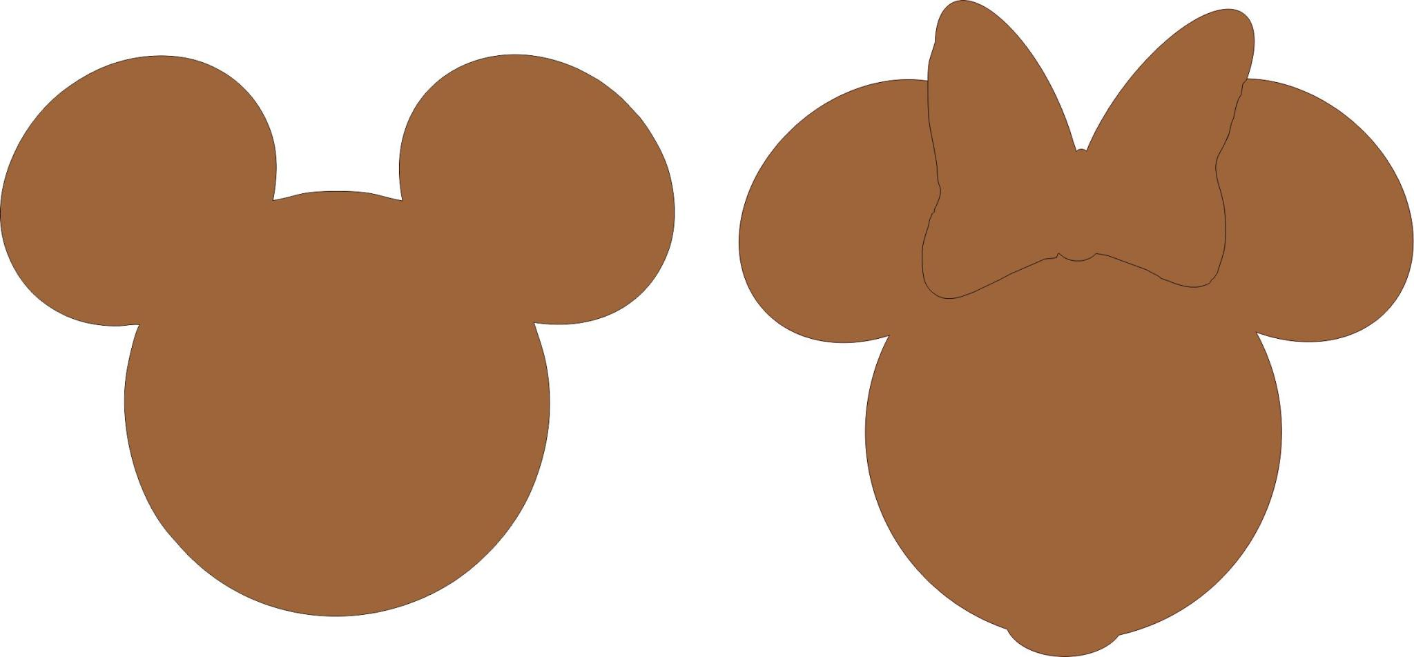 2048x952 Mickey Mouse Silhouette Head