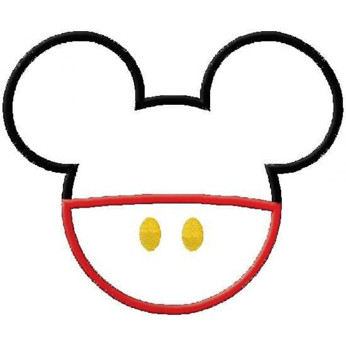 700x700 Mickey Ears Clipart